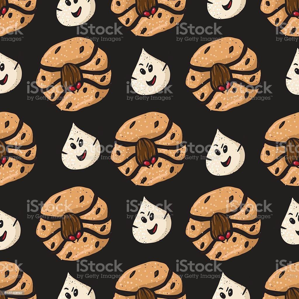 Halloween Cookies 10 vector art illustration