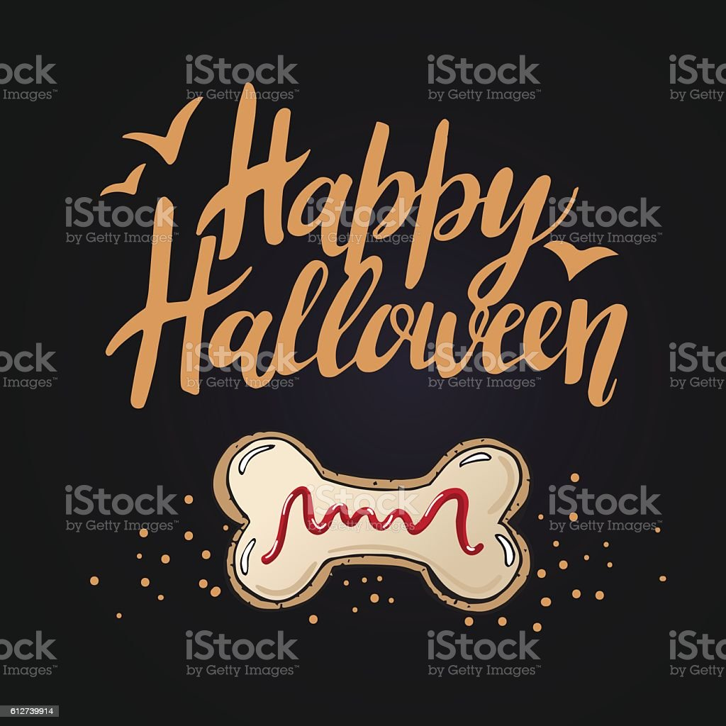 Halloween Cookies 6 vector art illustration