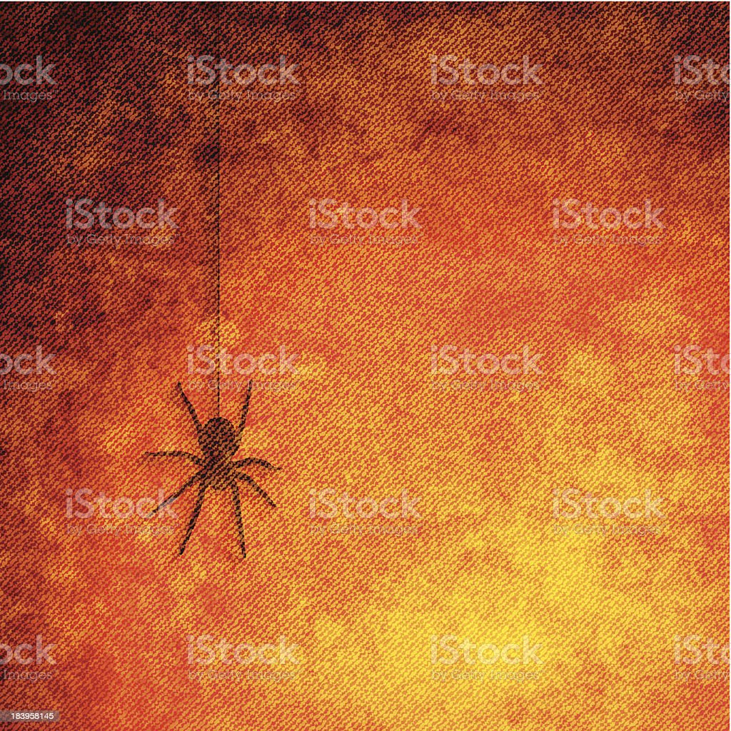 Halloween grunge canvas royalty-free stock vector art
