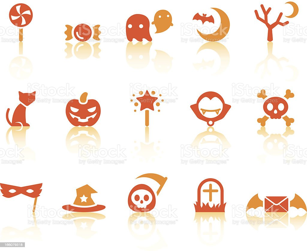Halloween Icons | Simple Series royalty-free stock vector art