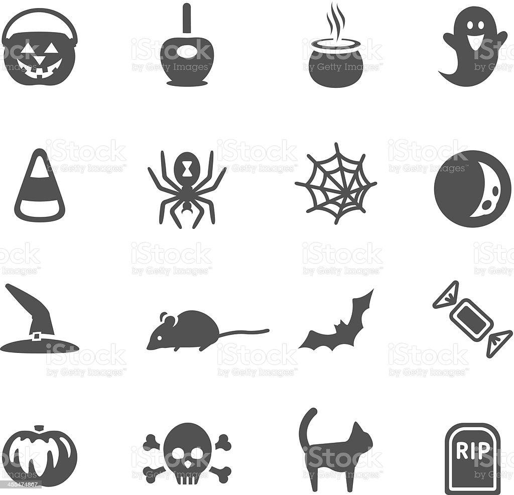 Halloween Icons royalty-free stock vector art
