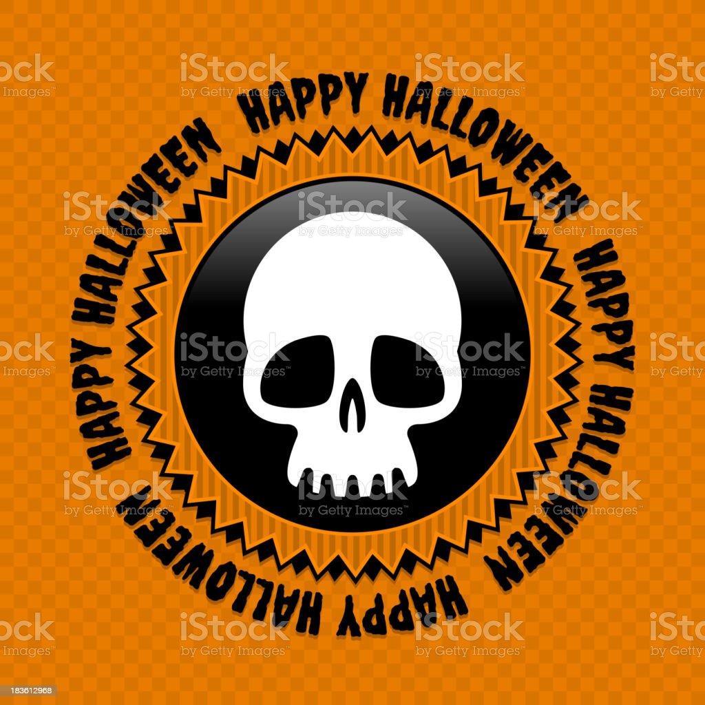 Halloween label royalty-free stock vector art