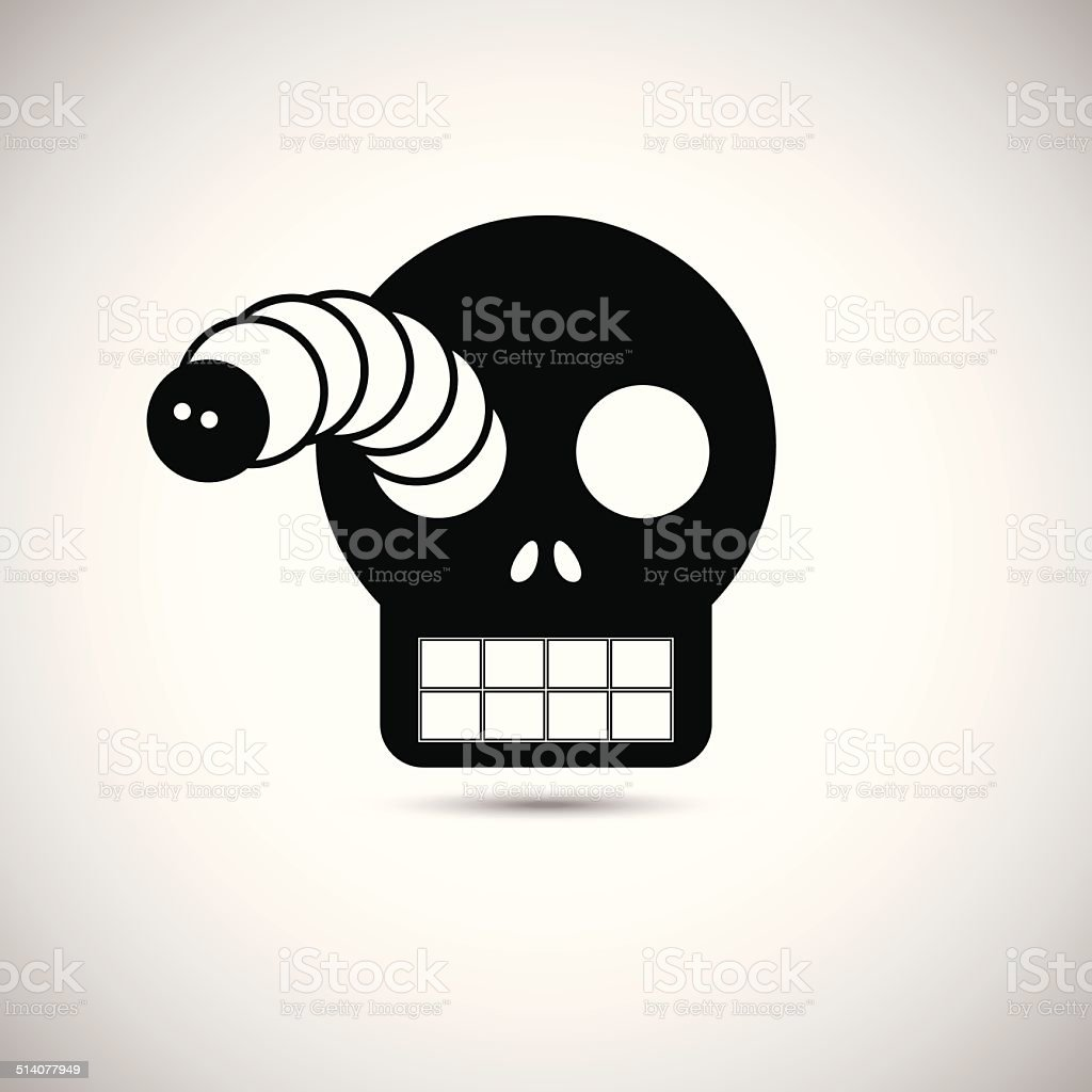 Masque d'Halloween stock vecteur libres de droits libre de droits