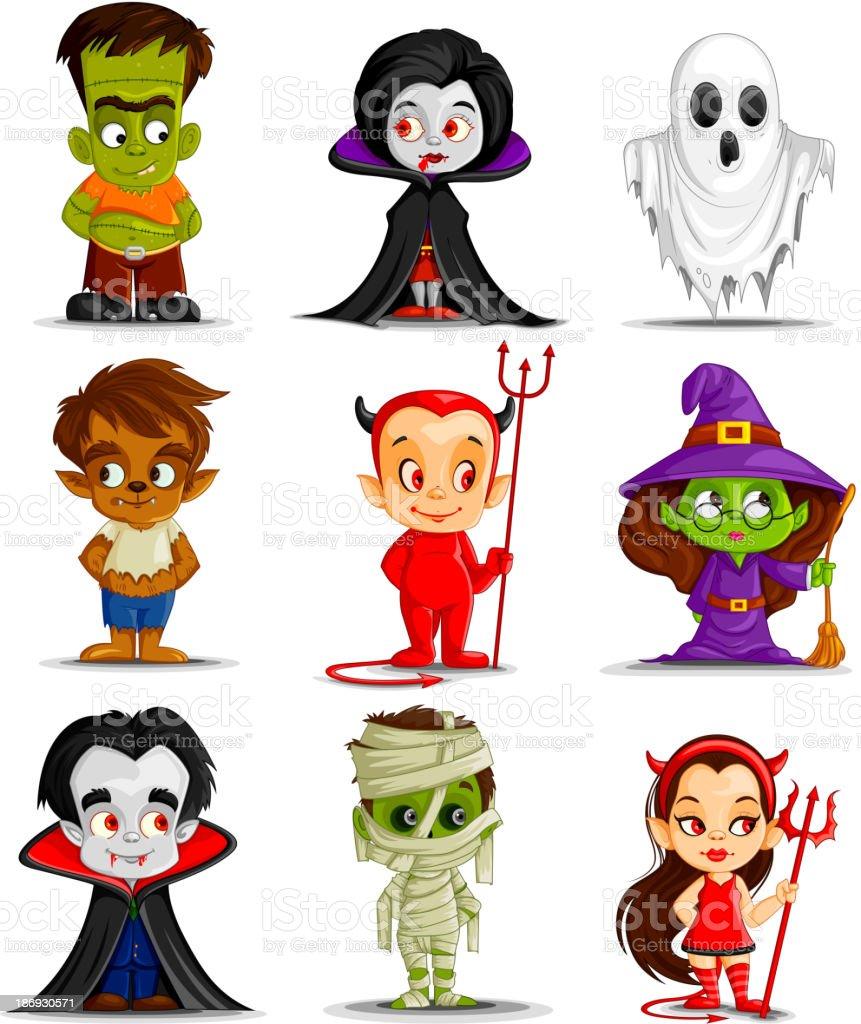 Halloween Monster royalty-free stock vector art
