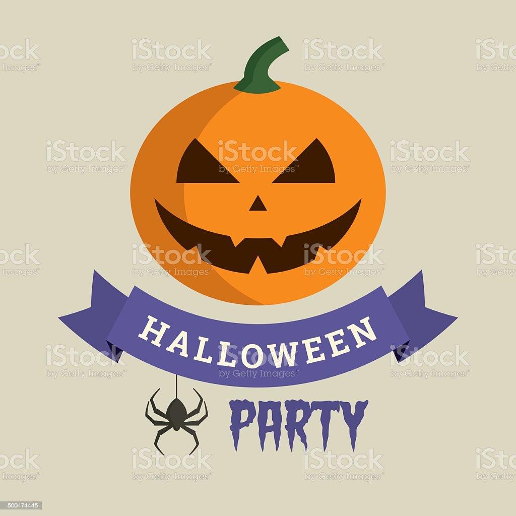 Halloween party royalty-free stock vector art