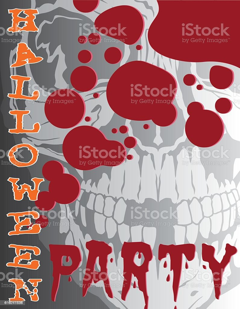 Halloween Party vector art illustration