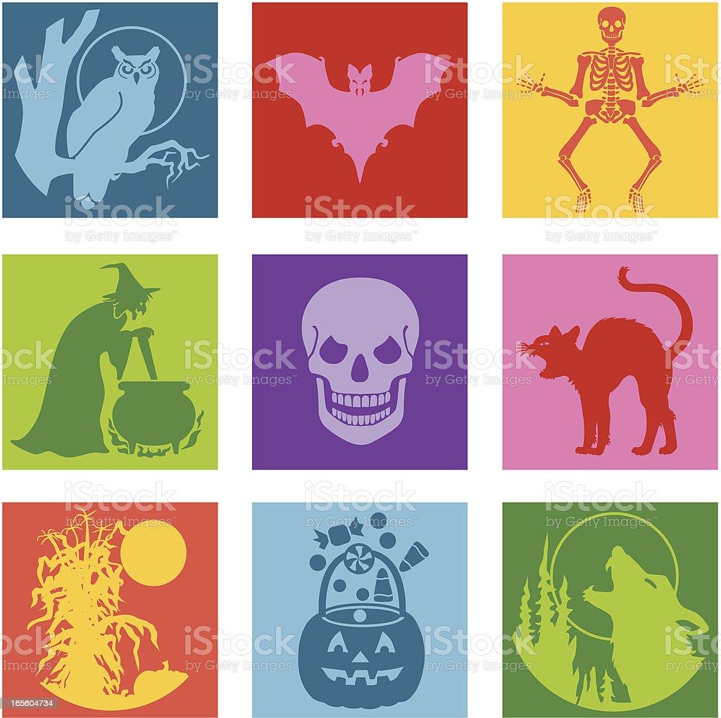 Halloween pop art royalty-free stock vector art