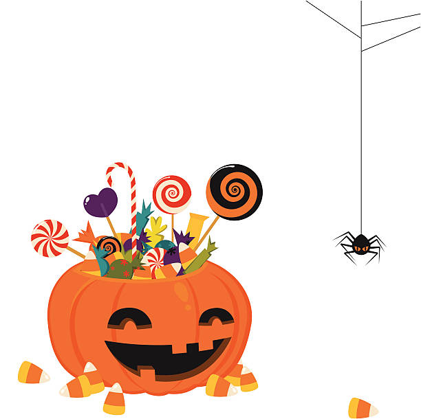 Trick Or Treat Clip Art, Vector Images & Illustrations ...
