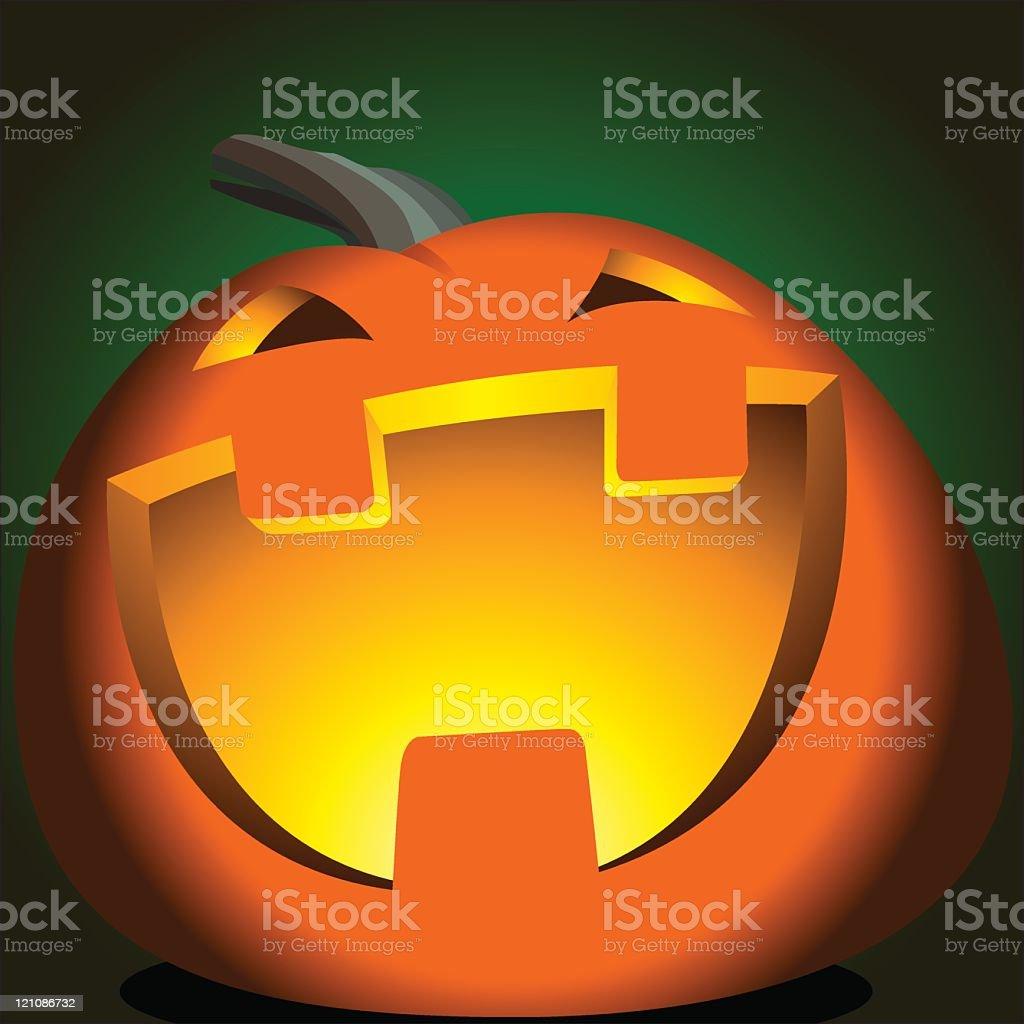 Halloween Pumpkin royalty-free stock vector art