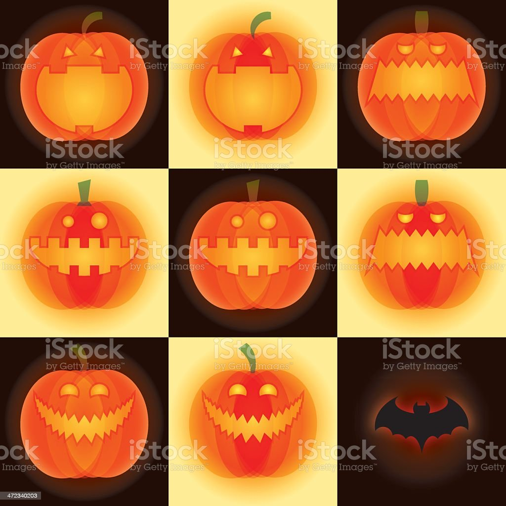 Halloween pumpkin royalty-free stock vector art