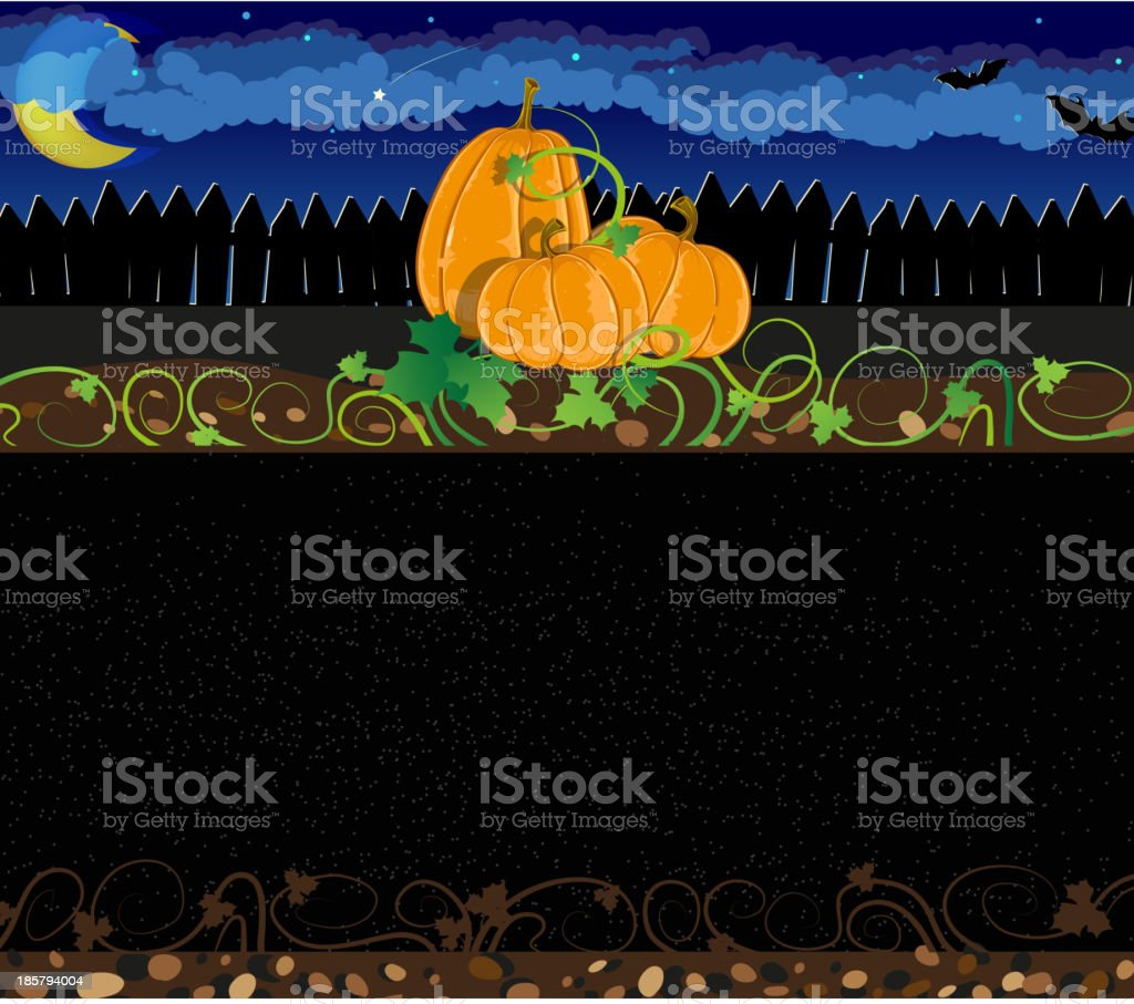 Halloween pumpkins royalty-free stock vector art