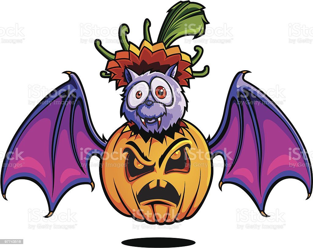 Halloween Series IV vector art illustration