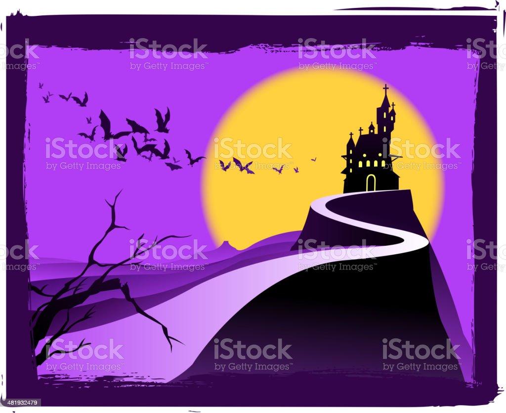 halloween silhouette royalty-free stock vector art
