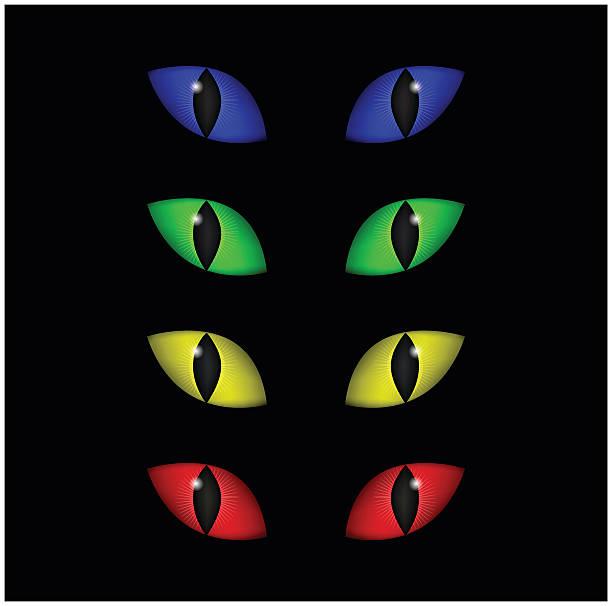 Cat Eye Clip Art, Vector Images & Illustrations - iStock