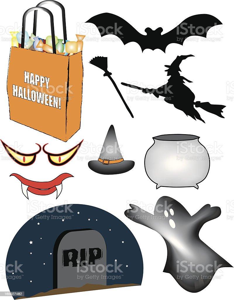 Halloween Vectors royalty-free stock vector art