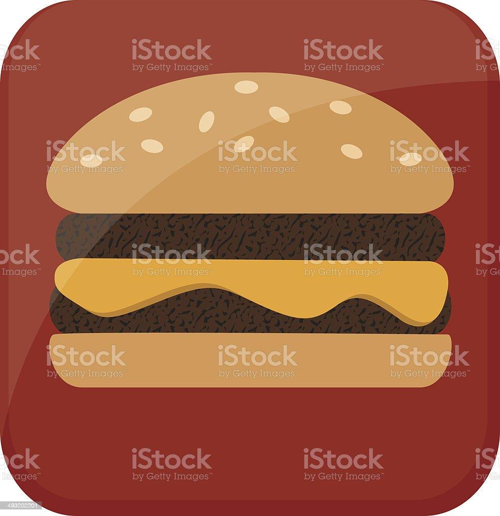 hamburger icon royalty-free stock vector art