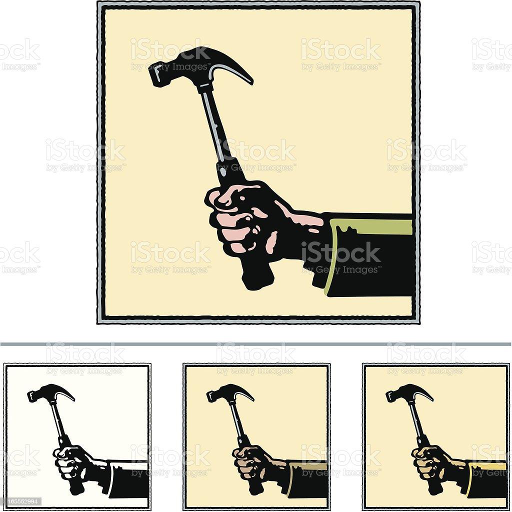 Hammer royalty-free stock vector art