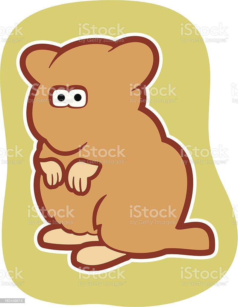 Hamster royalty-free stock vector art