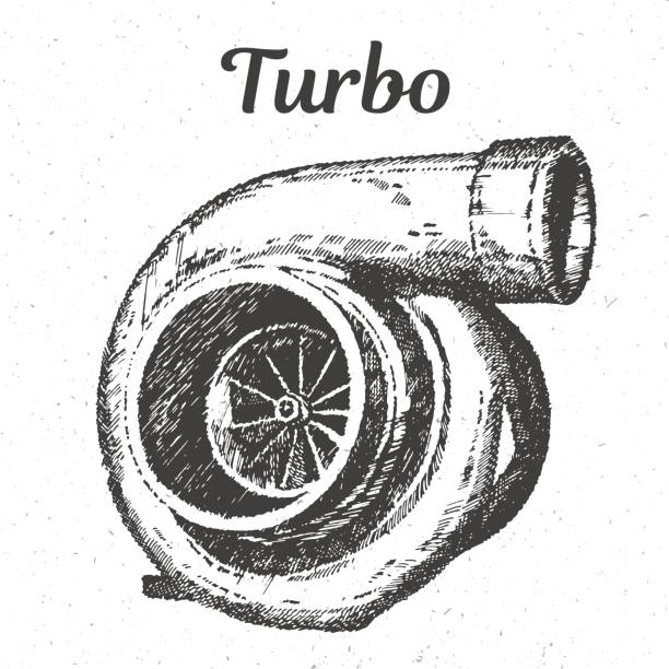Turbocharger Clip Art Vector Images Amp Illustrations Istock