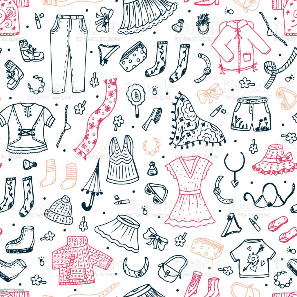 fashion seamless pattern collection 12 wallpapers