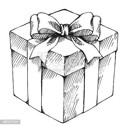 Подарок рисунок графика 45