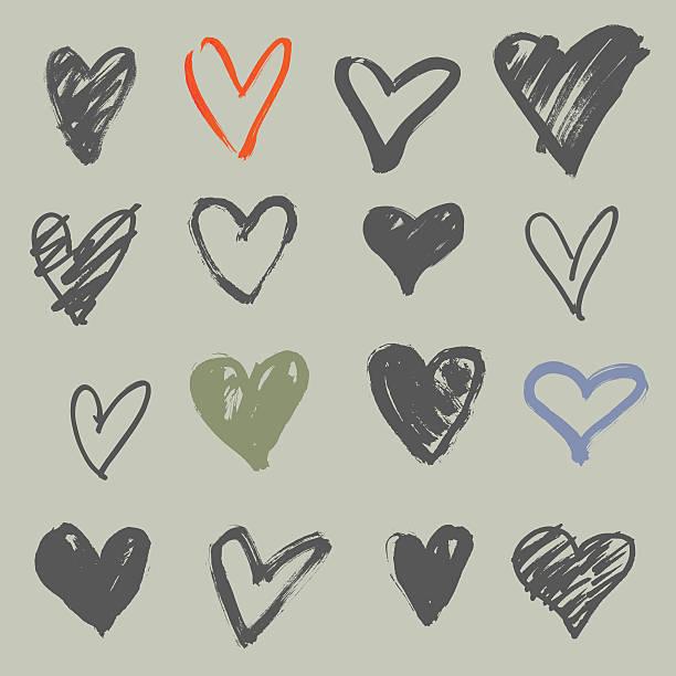Heart Shape Clip Art, Vector Images & Illustrations - iStock