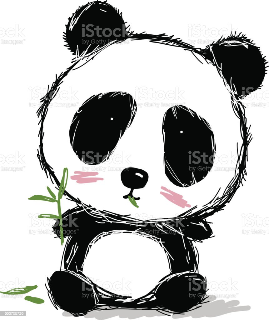 cartoon of panda bear pic clip art vector images u0026 illustrations