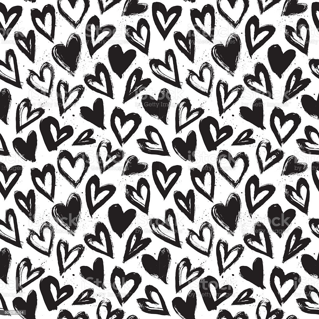 Hand drawn vector vintage texture. Seamless abstract pattern vector art illustration