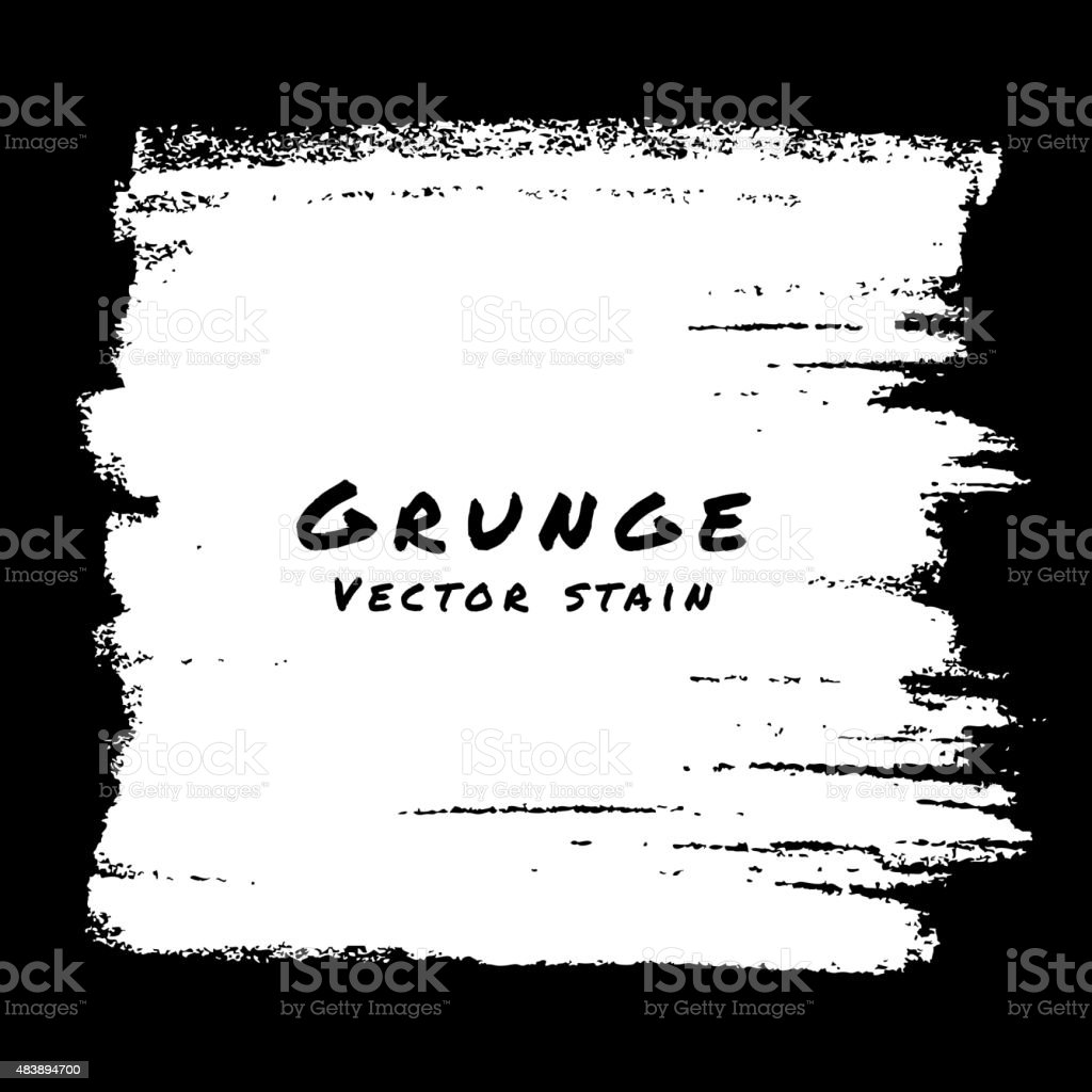 Hand Drawn White Grunge background. vector art illustration