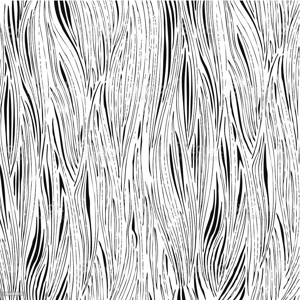 Hand drawn woodgrain vector art illustration