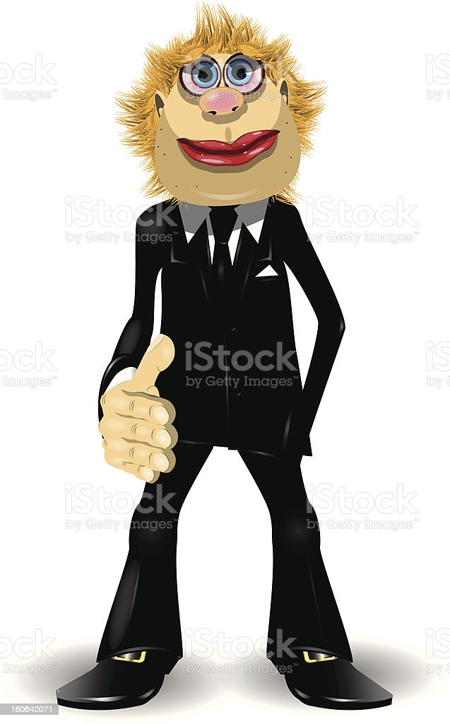 hand for a handshake royalty-free stock vector art