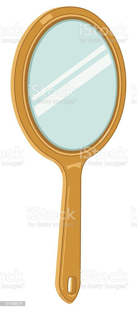 Hand Held Mirror Icon royalty-free stock vector art