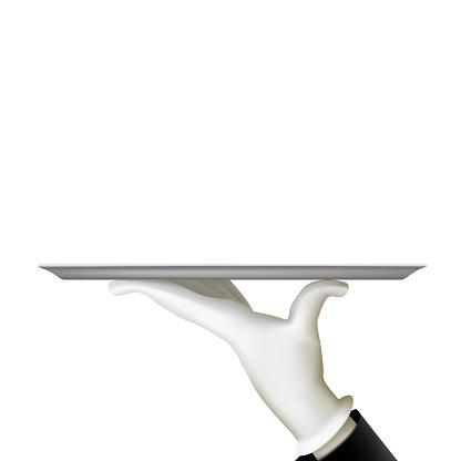 Waiter Clip Art, Vector Images & Illustrations - iStock