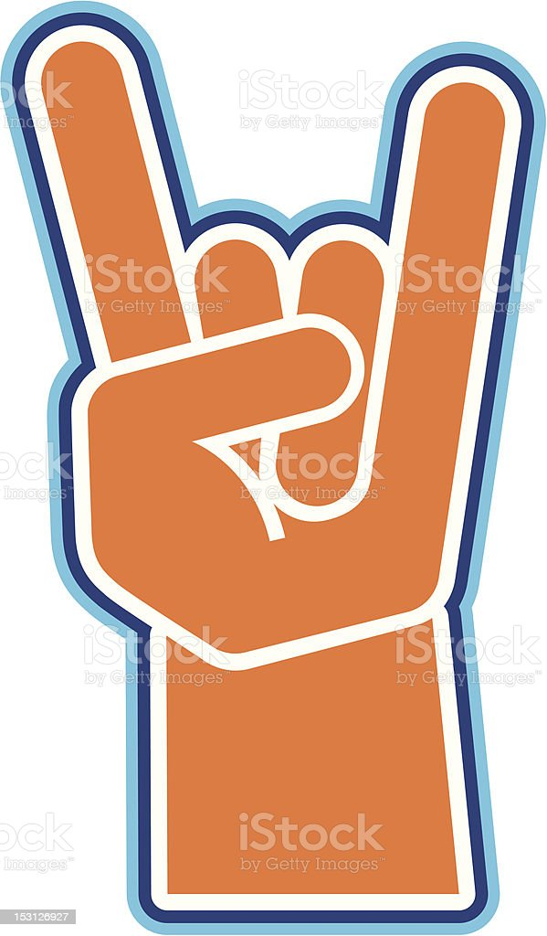 Hand sign royalty-free stock vector art