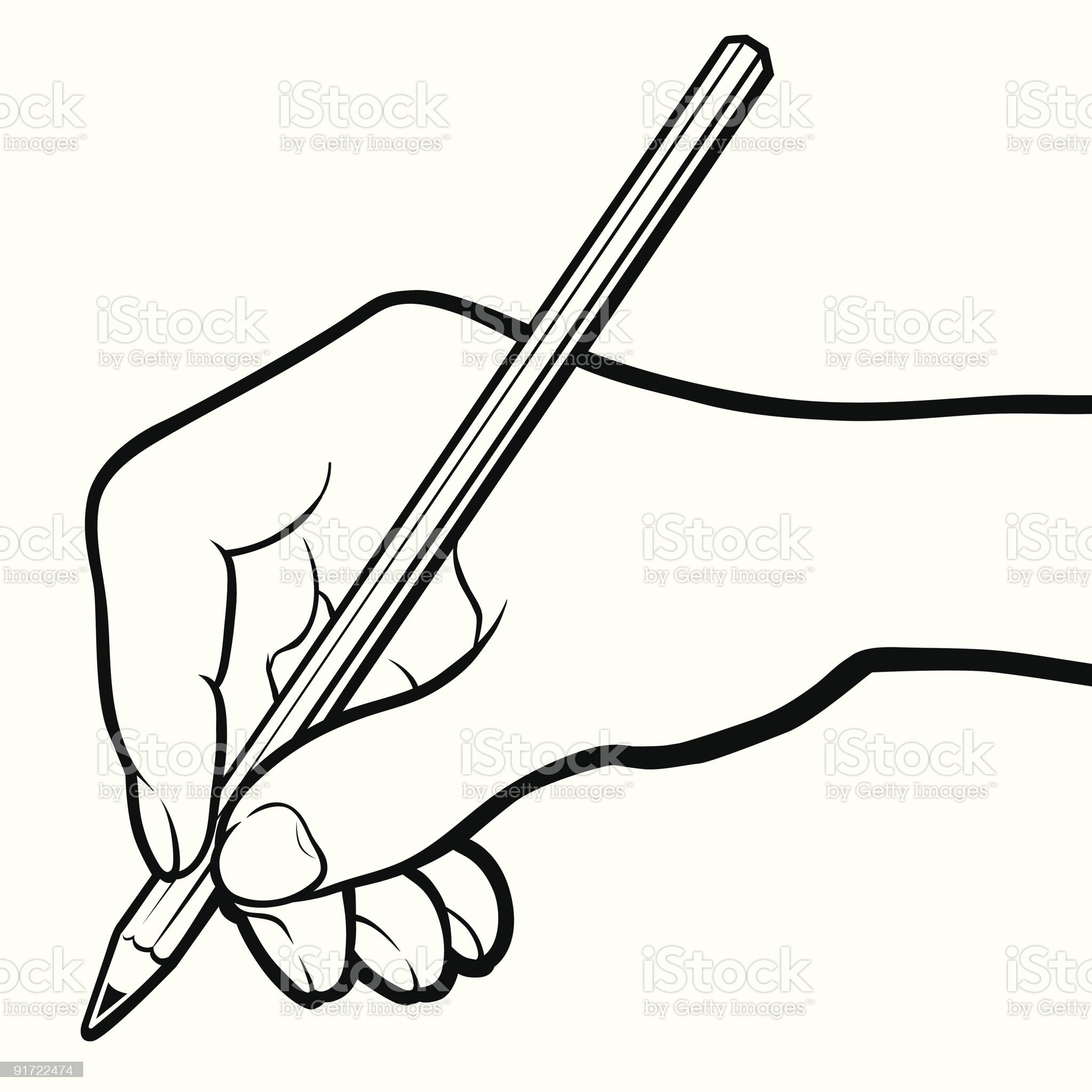 Hand royalty-free stock vector art