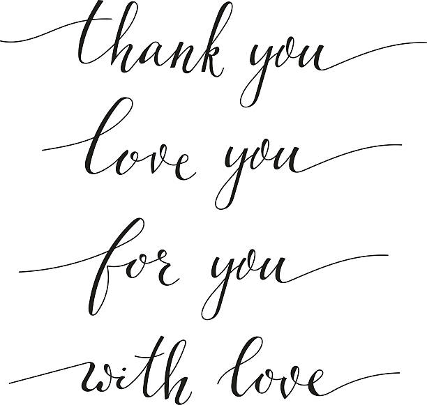 Thank You Note Clip Art, Vector Images & Illustrations