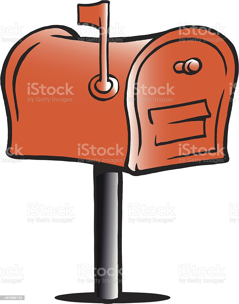 手描きのベクターイラストのメールボックス のイラスト素材 467889133
