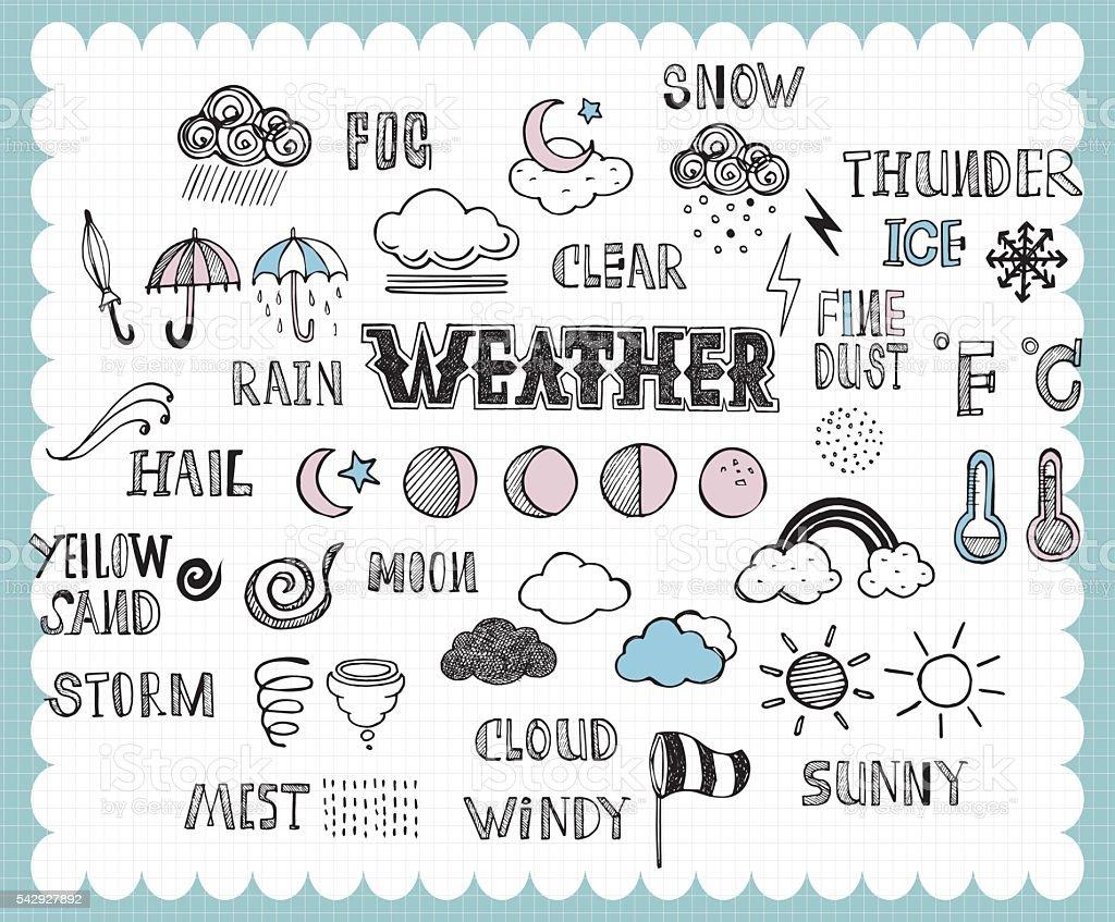 handdrawn_weather_A vector art illustration