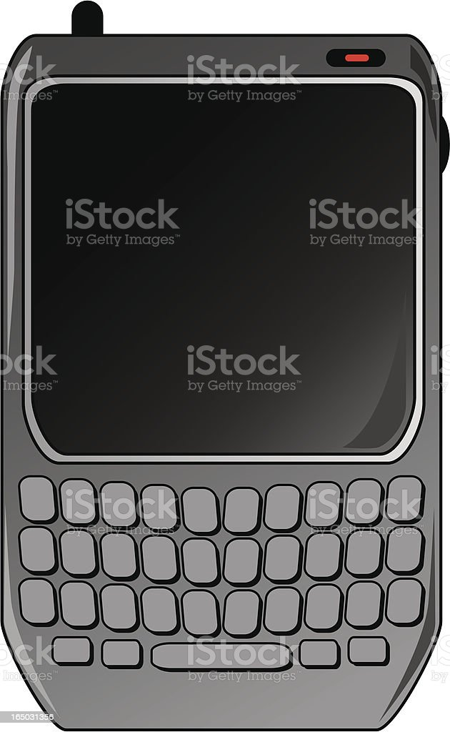 Handheld device royalty-free stock vector art