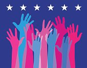 Hands Held High - USA elections