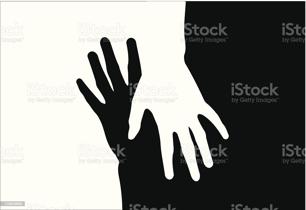 hands royalty-free stock vector art