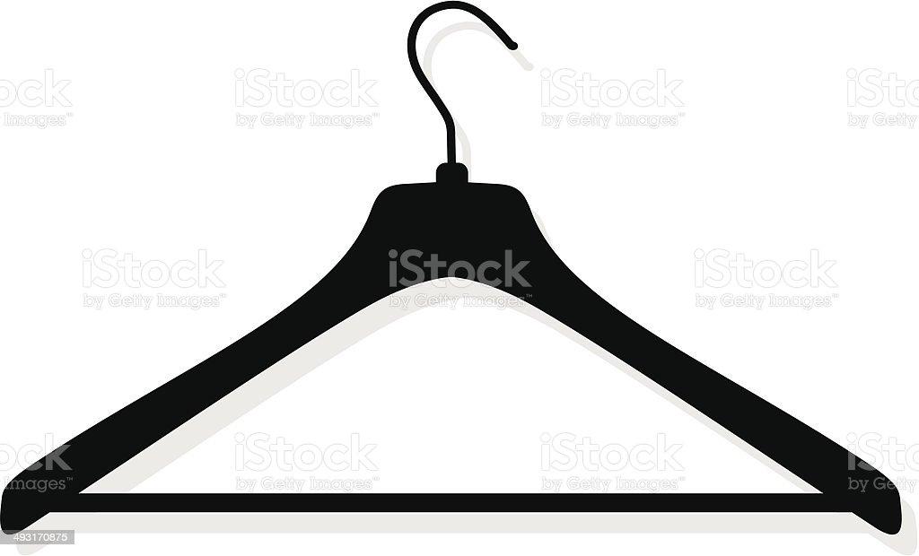 hanger vector art illustration