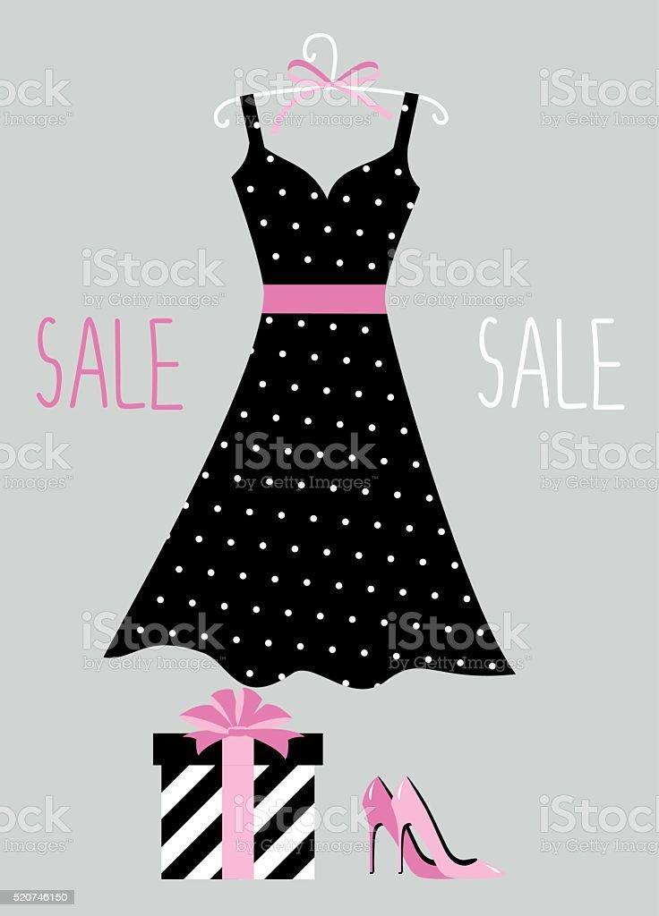 Summer dress sale sign