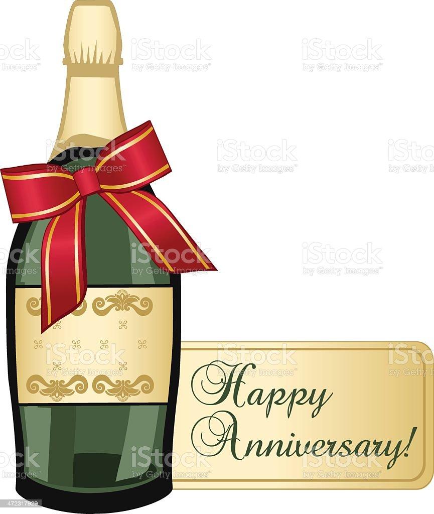 Happy Anniversary royalty-free stock vector art