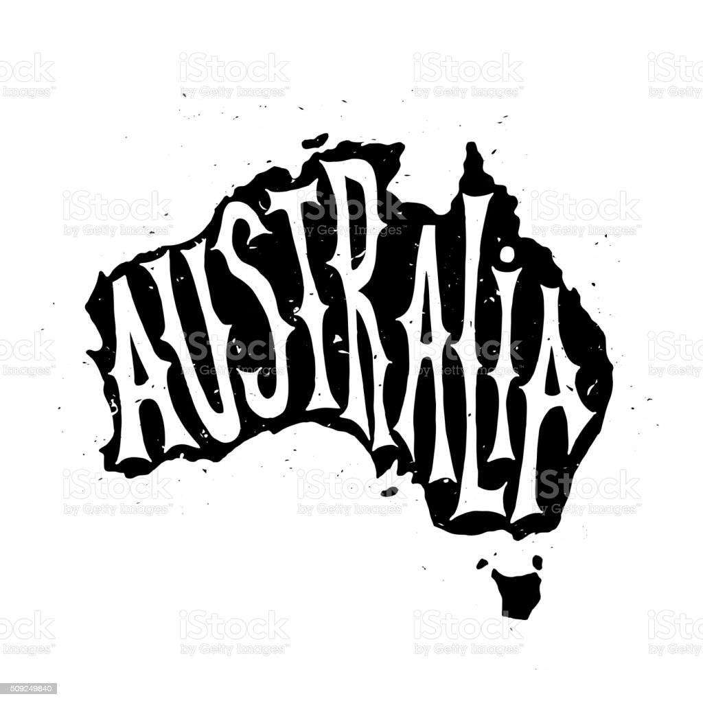 Happy Australia republic Day vector art illustration