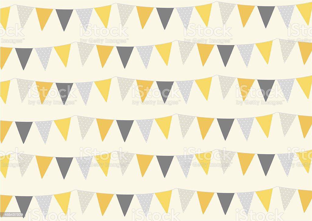 Happy banner - halloween colors royalty-free stock vector art