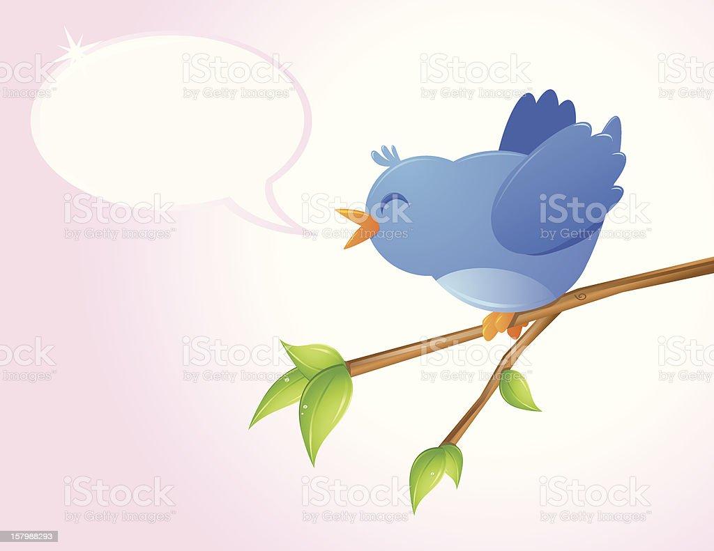 Happy Bird royalty-free stock vector art
