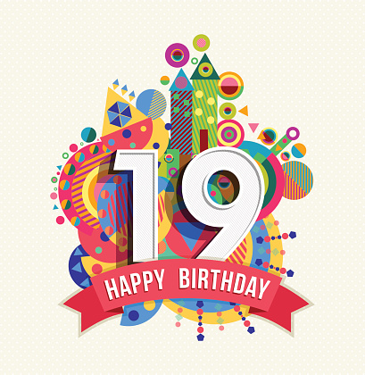 18 19 Years Clip Art, Vector Images & Illustrations - iStock