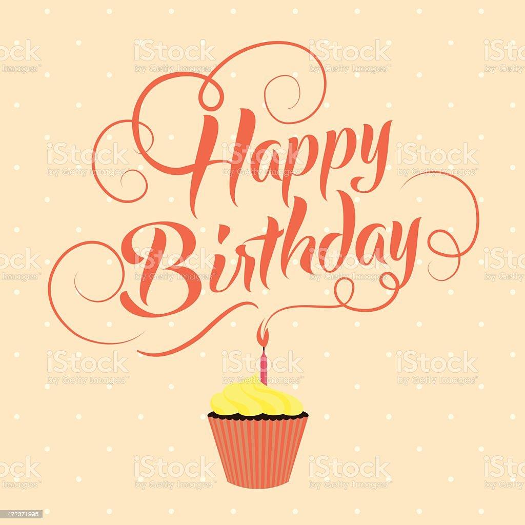 happy birthday typography banner stock vector art 472371995 istock