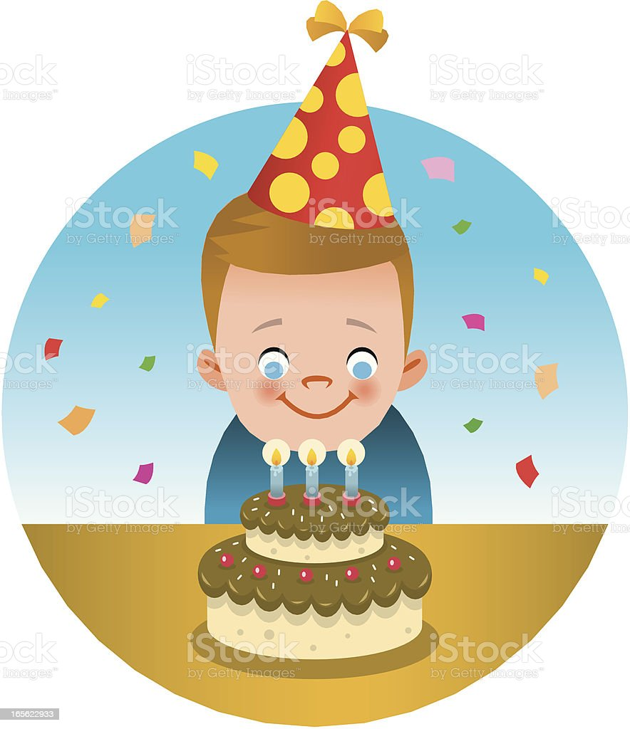 Happy birthday! royalty-free stock vector art